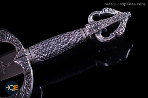 Espada Tizona de plata del Cid Campeador