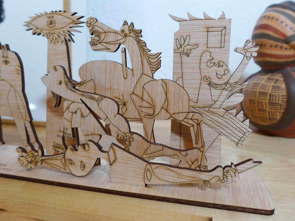 Puzzle 3D. Madrid Guernica