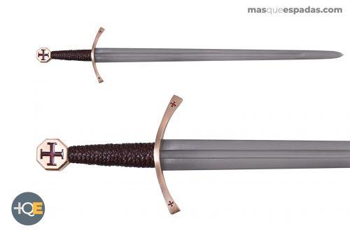 Espada Templaria con Cruz Pattée
